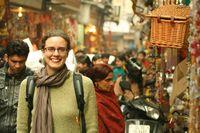 Steph in India