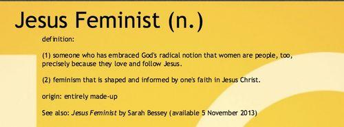 Jesus-Feminist-definition
